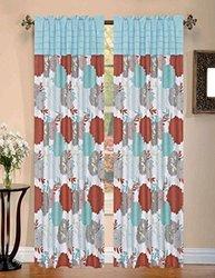 "RT Designers Collection 55""x84"" Sarasota Rod Pocket Window Curtain Panel"