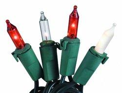 50L Bethlehem Light Set 5.5X5.5X5.5 End-To-End Header Elegance/Green Wire