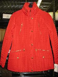 Michael Kors Missy Front Jacket - Red - Size: Med