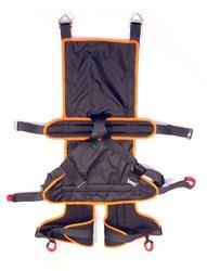 Fusion Roar Deluxe Full Body Zipline Harness - Black - Small