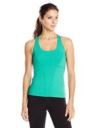 Anatomy Sport Women's Cross Back Tank Top - Green - Size: X-Small