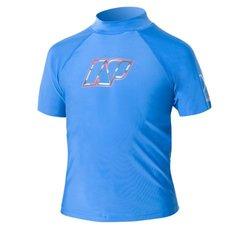 NP Surf Junior Short Sleeve Rashguard Shirt, Blue, 16