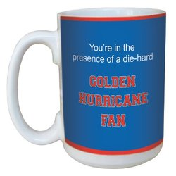 Tree-Free Greetings lm44921 Golden Hurricane College Basketball Ceramic Mug with Full-Sized Handle, 15-Ounce