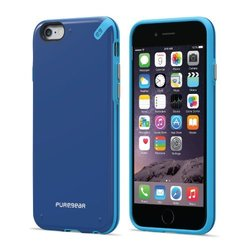PureGear Slim Shell Case for iPhone 6s Plus/6 Plus - Pacific Blue