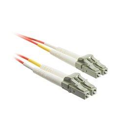 C&E LC / LC Multimode Duplex Fiber Optic Cable 50/125 5 Meter (16.5 ft)(CNE72210)