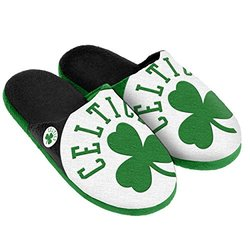 Forever Collectibles NBA Boston Celtics Slipper - Green - Size: Small