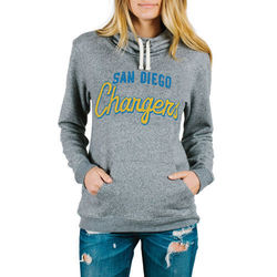 Junk Food Women's NFL San Diego Chargers Sunday Hoody - Heather - Size: Xl