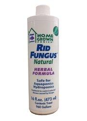 Home Grown Ponics 96033 Rid Fungus Natural Disease Treatment - 16-Oz