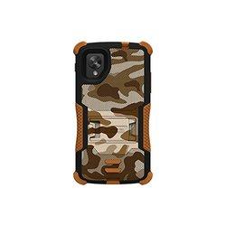 Tri-Shield Hybrid Hard Shell Case for LG Nexus 5 - Black/Brown (CNE23758)