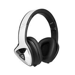 Monster DNA Pro 2.0 Noise Isolating Over-Ear Headphones: White Tuxedo 2.0