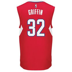 Adidas NBA Men's Replica Jersey - Red - Size: X-Large