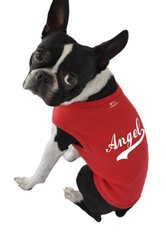 Ruff Ruff and Meow Dog Tank Top, Angel, Red, Extra-Large