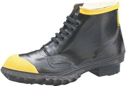 Honeywell Men's Safety Ranger Steel Toe Safety Work Shoe - Size: 6 - Black