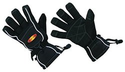 ThermaFur Waterproof Air Activated Heating Sport Gloves - Black - Size: S/M