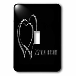 lsp_29618_1 Two Silver Hearts 25Th Anniversary Single Toggle Switch