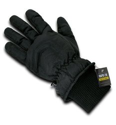 Rapdom Tactical Super Dry Winter Gloves, Black, X-Large
