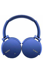 Sony MDRXB950BT/L Extra Bass Bluetooth Headphones: Blue