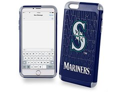 MLB Seattle Mariners TPU Dual Hybrid AI6 Cover (2 Piece), Large, Green