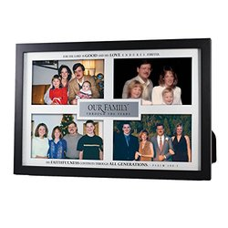 """Lighthouse Christian Products Our Family Through The Years Frame Collage, 12 3/4 x 8 5/8"""""""