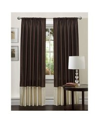 Lush Decor 54-Inch by 84-Inch Flourish Panel, Brown