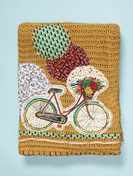 Be-you-tiful Home Bicycle Throw