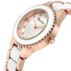 Lucien Pezzoni Sacra Ladies Watch: 62627429/rose-white Band