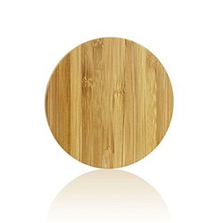 Yeesite Bamboo Wireless Charging Pad for Samsung S6/S6 Edge, Nexus 4/5/6/7, Nokia Lumia 920, LG Optimus Vu2, HTC 8X / Droid DNA and Bamboo Wireless Charger
