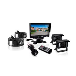 Pyle Weatherproof Rearview Camera and Monitor Video System (PLCMTR72)