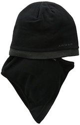 Seirus Innovation Men's Fleece Knit Quick Clava Hat - Black/Charcoal
