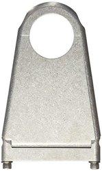 "Borgeson 910175 Blank Style Steering Column Drop, 1-3/4"" Column x 5"" Drop, Paintable Aluminum"