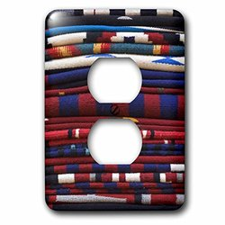 lsp_92948_6 New Mexico, Gallup, Handmade Navajo Rugs, Textile - Us32 Rti0048 - Rob Tilley 2 Plug Outlet Cover