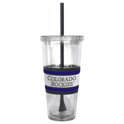 Boelter MLB Colorado Rockies Hype Straw Tumbler