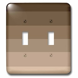 lsp_110387_2 Chocolate Ombre Brown Colors Double Toggle Switch