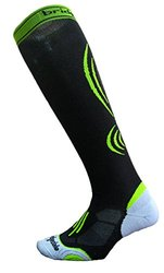 Bridgedale Compression Active Socks, Small, Black/Fluro