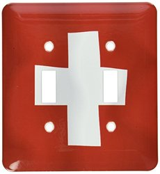 lsp_31586_2 Switzerland Flag Double Toggle Switch
