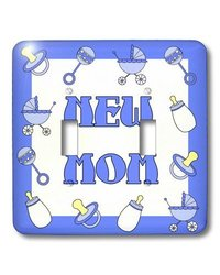 lsp_12123_2 New Mom Gifts Blue Baby Boy Double Toggle Switch