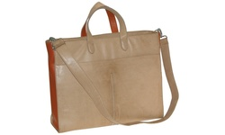 "Buxton Women's Bright Ideas 15.6"" Laptop Tote Bag - Natural"