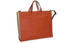 """Buxton Women's Bright Ideas 15.6"""" Laptop Tote Bag - Orange"""