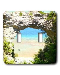 Mackinac Island Arch Double Toggle Switch
