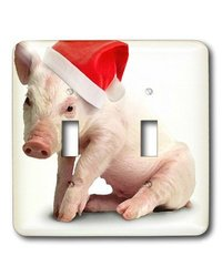 lsp_4574_2 Christmas Pig Double Toggle Switch