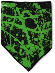 Seirus Innovation Softshell Bandana, Black, Black Lime