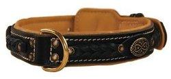 Dean & Tyler Dean's Legend Leather Dog Collar - Black