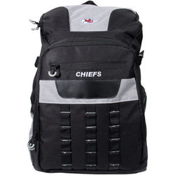 NFL Kansas City Chiefs Backpack - Black/Grey