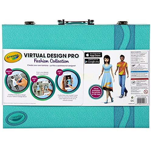 Crayola Virtual Design Pro Fashion Collection 04 1921