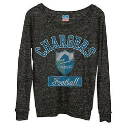 NFL San Diego Chargers Women's Field Goal Long Sleeve Tee - SIze: X-Small