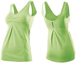 2XU Women's Movement V Tank - Honeydew Marle - Size: X-Large