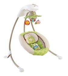 Fisher-Price Rainforest Friends Deluxe Cradle N' Swing (X7340)