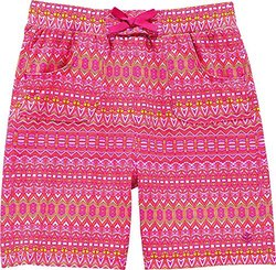 Coolibar UPF 50+ Girl's Beach Board Short - Tribal Pink - Size: XS 4-5