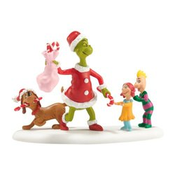 "Department 56 Grinch Villages ""Who's Been a Good Who"" Accessory - Size: 3"""