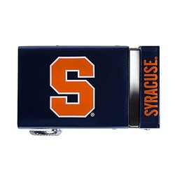 NCAA Officially Licensed Syracuse - White Leather - Size: Large